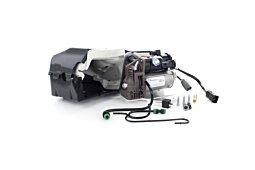 Kompresor zawieszenia Range Rover Sport (bez VDS) z obudową oraz zestawem dolotu i wyjścia powietrza (2005-2013) LR061663